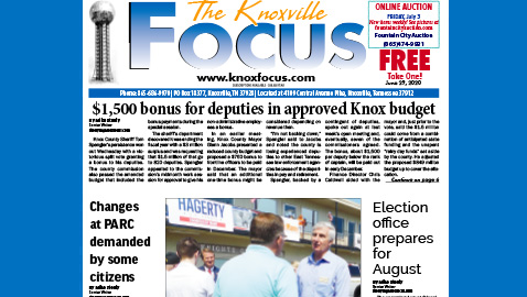The Knoxville Focus for June 29, 2020