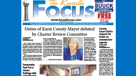 The Knoxville Focus for July 13, 2020