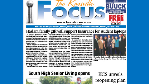 The Knoxville Focus for July 20, 2020