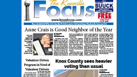The Knoxville Focus for July 27, 2020