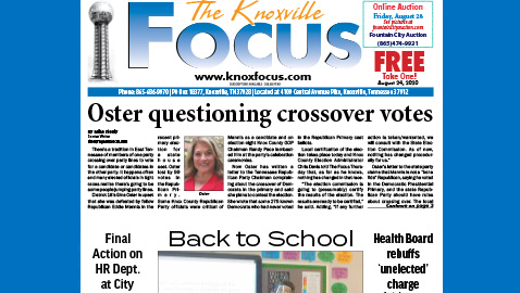 The Knoxville Focus for August 24, 2020