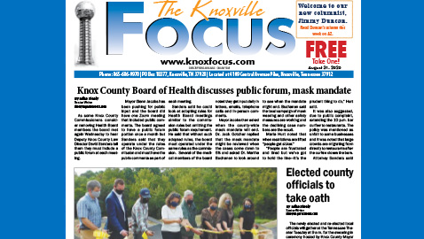 The Knoxville Focus for the week of August 31, 2020