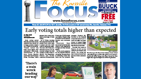 The Knoxville Focus for August 3, 2020
