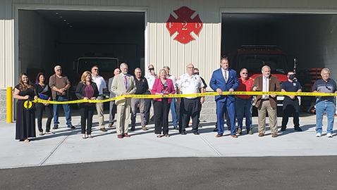 Seymour VFD dedicates a new fire station