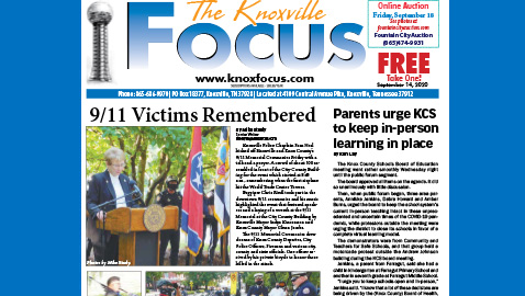 The Knoxville Focus for September 14, 2020