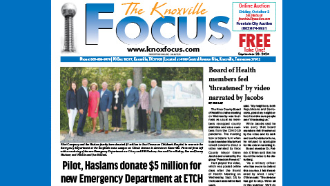 The Knoxville Focus for September 28, 2020