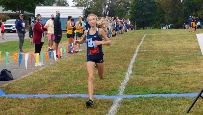 HVA freshman wins KIL cross country girls' title