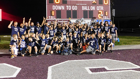 Farragut Middle repeats as MAC JV Champion