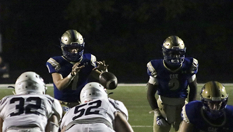 CAK (9-0) gets first 'title' with 48-21 win over GCA