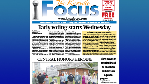 The Knoxville Focus for October 12, 2020