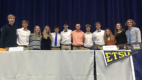 Local High Schools' College Signees