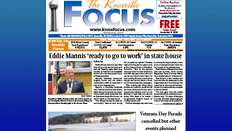 The Knoxville Focus for November 9, 2020