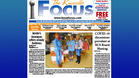 The Knoxville Focus for November 16, 2020