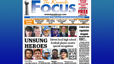 The Knoxville Focus for November 2, 2020