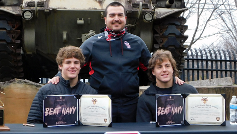 Fortner brothers look forward to playing together at Army