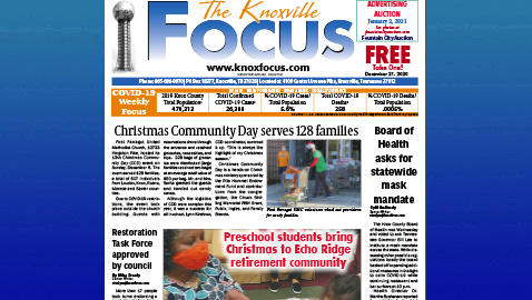 The Knoxville Focus for December 21, 2020