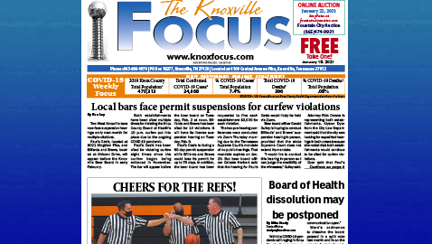 The Knoxville Focus for January 18, 2021