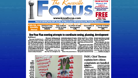 The Knoxville Focus for February 1, 2021