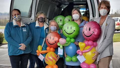Balloon Buddies bring smiles to isolated, lonely senior citizens