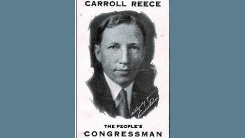 Carroll Reece: Tennessee's 'Mr. Republican,' I