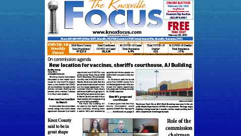 The Knoxville Focus for February 22, 2021