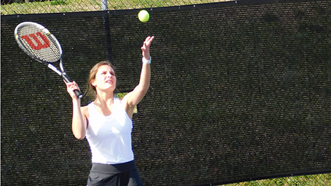 Berean Christian has a 'blast' in first swing at tennis