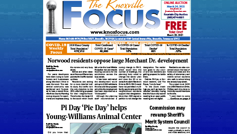 The Knoxville Focus for March 22, 2021