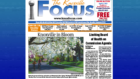 The Knoxville Focus for March 29, 2021