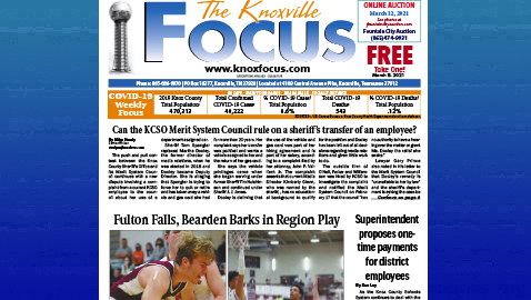 The Knoxville Focus for March 8, 2021