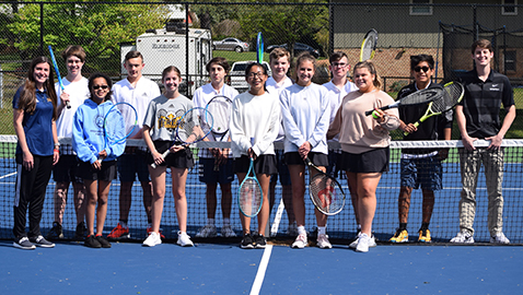 Berean Christian nets first victory in tennis
